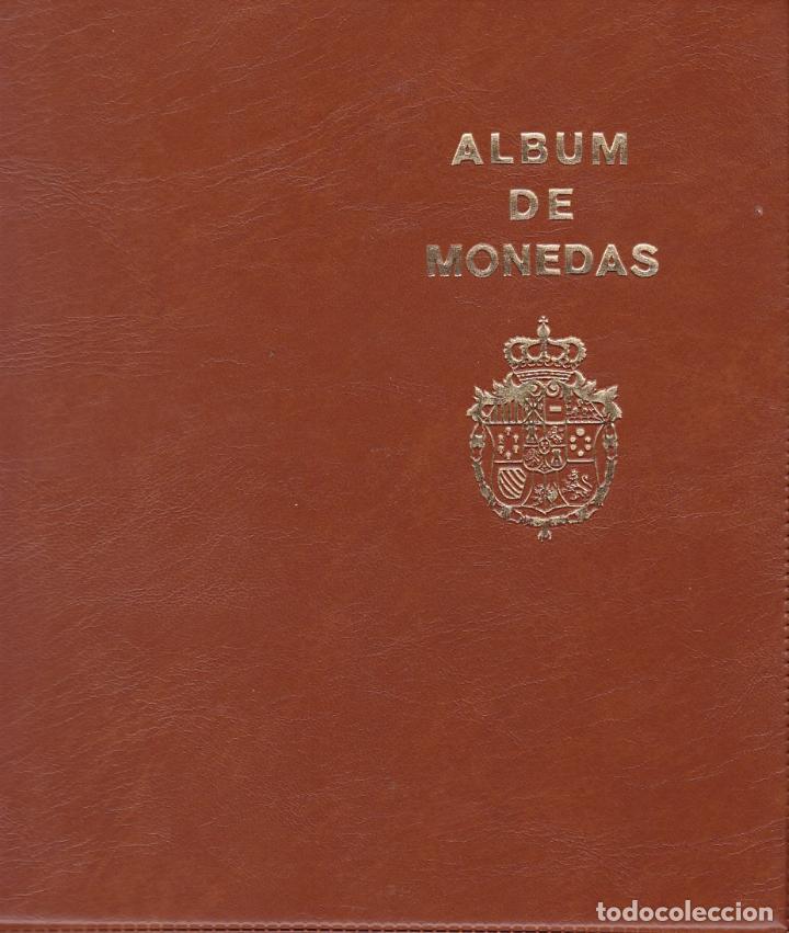ST(HB)- ALBUM CON COLECCIÓN MONEDAS ESPAÑA. VER 10 IMÁGENES (Numismática - España Modernas y Contemporáneas - Estado Español)