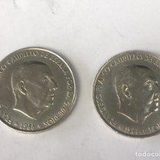 Monedas Franco: S-100 PESETAS EN PLATA FRANCISCO FRANCO CAUDILLO 1966. Lote 222009496