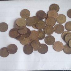 Monedas Franco: 40 PESETAS DE FRANCO AÑOS 40-50-60. Lote 222041311