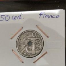 Monedas Franco: 50 CÉNTIMOS 1949 *52 MBC. Lote 222061492