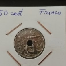 Monedas Franco: 50 CÉNTIMOS 1949 *53. Lote 222062551