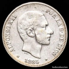 Monedas Franco: ESPAÑA - FILIPINAS 50 CENTIMOS DE PESO 1885 ALFONSO XII (50). Lote 222374413
