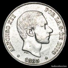 Monedas Franco: ESPAÑA - FILIPINAS 50 CENTIMOS DE PESO 1885 ALFONSO XII (51). Lote 222374506