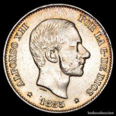 Monedas Franco: ESPAÑA - FILIPINAS 50 CENTIMOS DE PESO 1885 ALFONSO XII (54). Lote 222374977