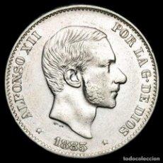 Monedas Franco: ESPAÑA - FILIPINAS 50 CENTIMOS DE PESO 1885 ALFONSO XII (62). Lote 222375965