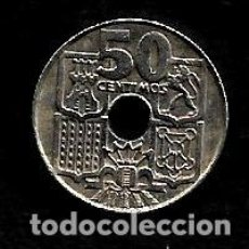 Monedas Franco: MONEDA DE 50 CENTIMOS - ESTADO ESPAÑOL - 1963-63. Lote 222384041