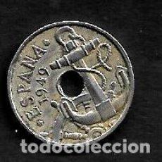 Monedas Franco: MONEDA DE 50 CENTIMOS - 1949-52. Lote 222384882