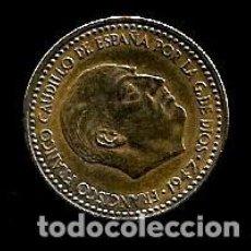 Monedas Franco: MONEDA DE 1 PESETA - ESTADO ESPAÑOL - 1947-49. Lote 222386486