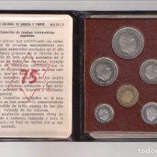 Monedas Franco: CARTERA DE LAS PRUEBAS NUMISMÁTICAS DE LAS MONEDAS EN PROOF DE 1975 DEL ESTADO ESPAÑOL (EE17). Lote 222441745