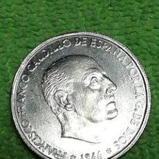 Moedas Franco: 50 CÉNTIMOS DE PESETA DE 1966.. Lote 222496115