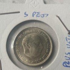 Monedas Franco: MONEDA 5 PESETAS 1957 ESTRELLA 66 SIN CIRCULAR. Lote 223307758