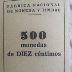 Monedas Franco: CAJA DE 500 MONEDAS 10 CENTIMOS 1959. Lote 224074856