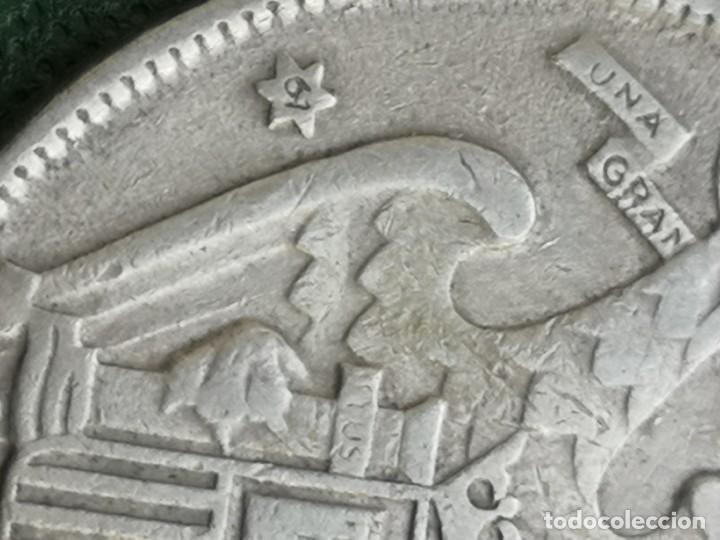 Monedas Franco: Moneda 25 pesetas 1957 estrella 61 rara lote de 4 - Foto 4 - 224435618
