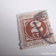 Monedas Franco: FILATELIA SELLO DE 2CMS DEL ESTADO ESPAÑOL. Lote 224489191