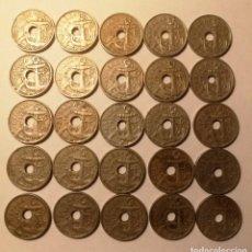 Monnaies Franco: LOTE 25 MONEDAS DE 50 CTMOS (1949). Lote 224493442