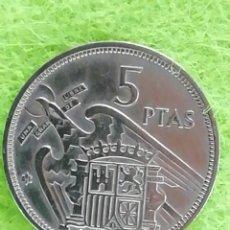 Monedas Franco: MONEDA DE 5 PESETAS DE 1957 ESTRELLA 58. CIRCULADO. Lote 225006278
