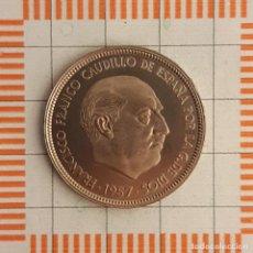 Moedas Franco: ESTADO ESPAÑOL, 50 PESETAS 1957 *75 (PROCEDENTE DE CARTERA). Lote 225170635