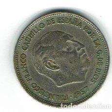 Monedas Franco: MONEDA DE 25 PESETAS DE FRANCO DEL AÑO 1957. Lote 226064205