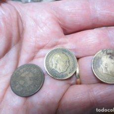 Monedas Franco: LOTE DE MONEDAS DE 1 PESETA DE DE FRANCO 1944,1947*49 Y 1947*56. Lote 226173380