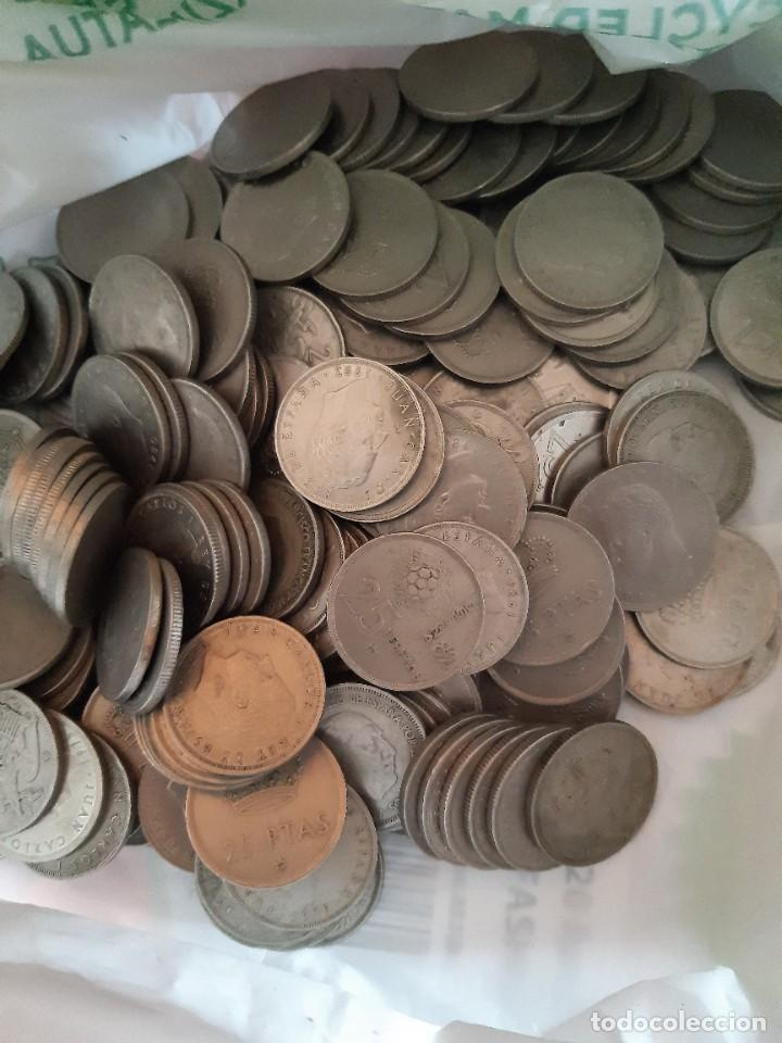 LOTE DE 230 MONEDAS DE 25 PESETAS (Numismática - España Modernas y Contemporáneas - Estado Español)