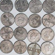 Monnaies Franco: 16 MONEDAS 50 CENTIMOS ESPAÑA. Lote 226278840
