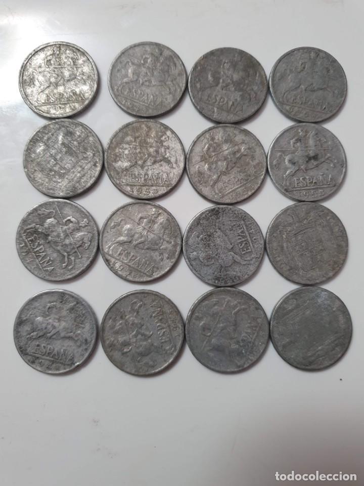 16 MONEDAS ESPAÑA (Numismática - España Modernas y Contemporáneas - Estado Español)