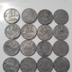 Monnaies Franco: 16 MONEDAS ESPAÑA. Lote 226279260