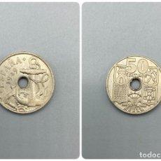 Monedas Franco: MONEDA. ESTADO ESPAÑOL. 50 CENTIMOS. 1949. ESTRELLAS *19-51*. S/C. VER FOTOS. Lote 226790325