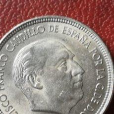 Monedas Franco: 5 PESETAS 1957 ESTRELLA 64 SIN CIRCULAR. Lote 227571820