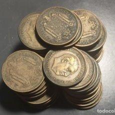Monedas Franco: GRAN LOTE DE 41 MONEDAS DE 2,50 PESETAS 1953. Lote 227572955