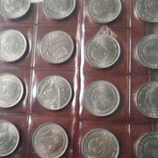 Monedas Franco: 50 PESETAS 1957 ESTRELLA 71 SIN CIRCULAR LOTE DE 20. Lote 227573490
