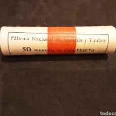 Monedas Franco: CARTUCHO 1 PESETA 1963 ESTRELLA 66 ESTADO ESPAÑOL SIN CIRCULAR ORIGINAL FNMT ESPAÑA. Lote 227581745