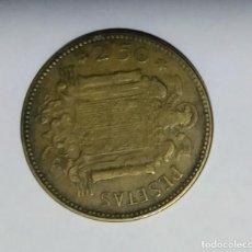 Monedas Franco: MONEDA ESPAÑOLA DE 2'5 PESETAS. Lote 227778950
