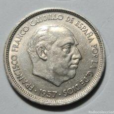 Monedas Franco: 50 PESETAS 1957 *58 EBC. Lote 228005965