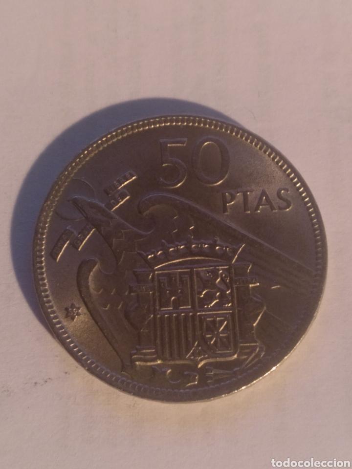 50 PESETAS FRANCO 1957 *59 EBC (Numismática - España Modernas y Contemporáneas - Estado Español)