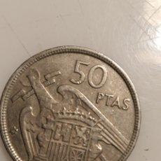Monedas Franco: MONEDA 50 PESETAS 1957. ESTRELLA *58. CANTO UNA GRANDE Y LIBRE. RARA.. Lote 229127790