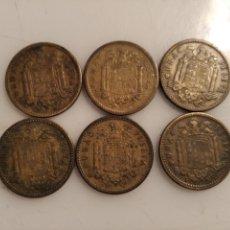 Monedas Franco: 1 PESETA 1953. LOTE DE 6.. Lote 229220770