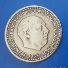 Monedas Franco: MONEDA DE UNA PESETA 1953 *61. Lote 230408110