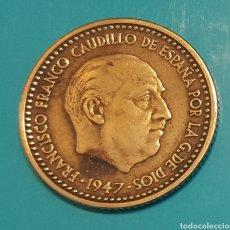 Monedas Franco: MONEDA DE UNA PESETA 1947 *51. Lote 230425545