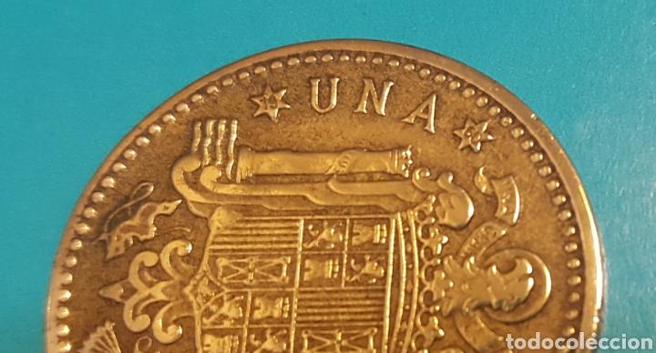 Monedas Franco: MONEDA DE UNA PESETA 1953 *60 - Foto 3 - 230428465