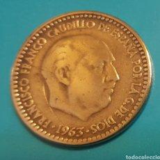 Monedas Franco: MONEDA DE UNA PESETA 1963 *67. Lote 230430740