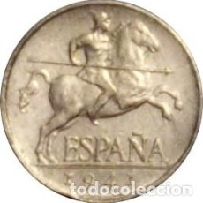 Monedas Franco: ESPAÑA. FRANCISCO FRANCO. 5 CÉNTIMOS 1.941. BRILLO ORIGINAL. Lote 230840410