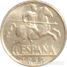 Monedas Franco: ESPAÑA. FRANCISCO FRANCO. 10 CÉNTIMOS 1.953. SIN CIRCULAR. BRILLO ORIGINAL. Lote 230843450