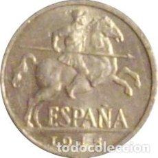 Monedas Franco: ESPAÑA. FRANCISCO FRANCO. 10 CÉNTIMOS 1.945. SIN CIRCULAR. BRILLO ORIGINAL. Lote 230846025