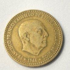 Monedas Franco: PESETA FRANCO 1966 *67 B.C. Lote 230943450