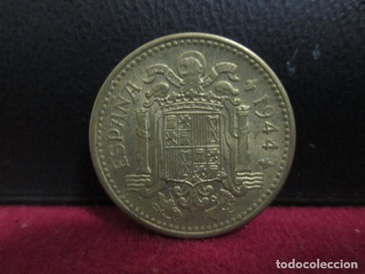 Monedas Franco: 1 PESETA 1944 EBC MAS - Foto 2 - 232547010