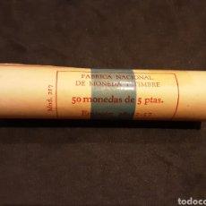 Monedas Franco: CARTUCHO 5 PESETAS 1957 ESTRELLA 65 ESTADO ESPAÑOL SIN CIRCULAR ORIGINAL FNMT. Lote 232715382