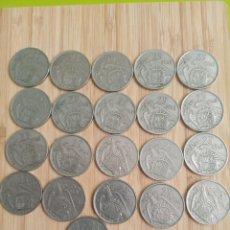 Monedas Franco: 21MONEDAS 25 PESETAS FRANCO Y 7 DE REGALO. Lote 232975227