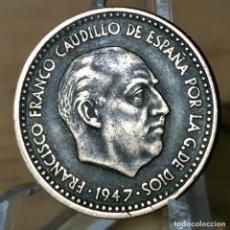 Monete Franco: AA996. MBC+. 1 PESETA 1947 *48. Lote 233050265