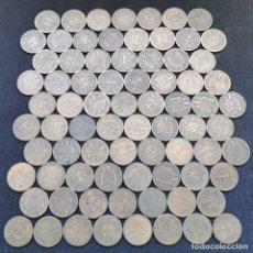 Monete Franco: A14. 77 PIEZAS CON BUENOS EJEMPLARES!!! 1 PESETA 1944. 264G. VER DESCRIPCIÓN. Lote 233466050